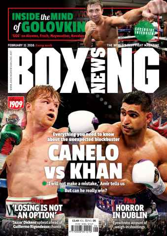 Boxing News International issue 09/02/2016