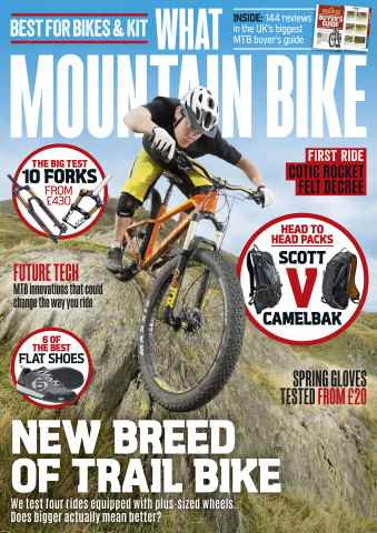 What Mountain Bike issue March 2016