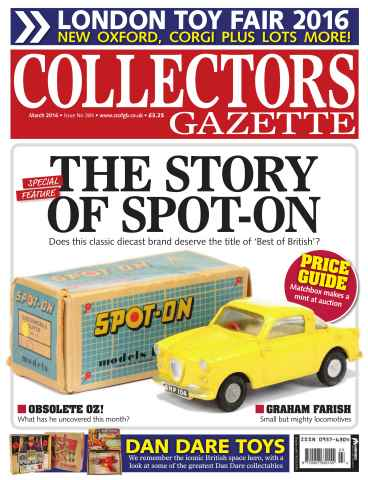 Collectors Gazette issue March 2016