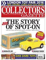 Collectors Gazette issue March 2016