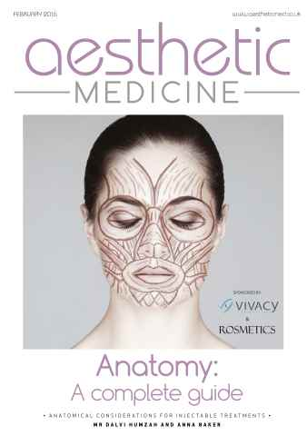 Aesthetic Medicine issue Anatomy Special
