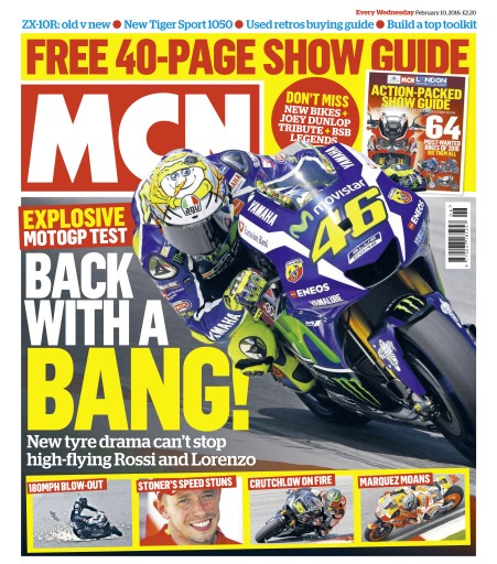 MCN issue 10th February  2016