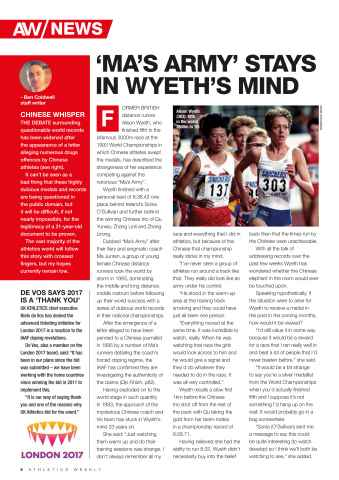 Athletics Weekly Preview 6