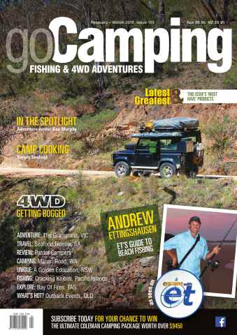 Go Camping Australia issue Issue 101 (February 2016 - March 2016)