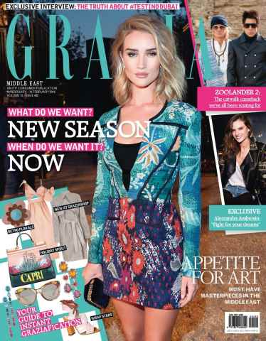 Grazia Middle East issue Issue 492, 10 - 16  February