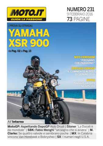 Moto.it Magazine issue Moto.it Magazine n. 231