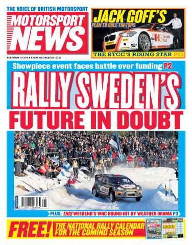 Motorsport News issue 10th February 2016