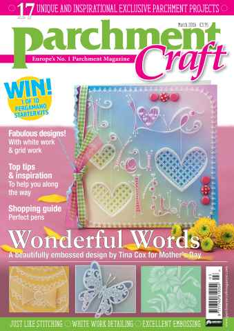 Parchment Craft issue March 2016