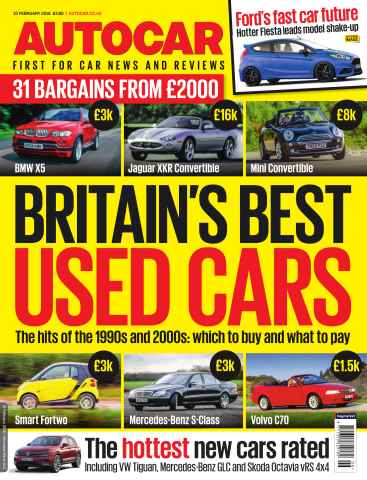 Autocar issue 10th February 2016