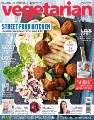 Vegetarian Living issue Mar-16