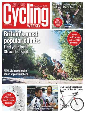 Cycling Weekly issue February 11, 2016