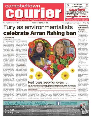 Campbeltown Courier issue 12th February 2016