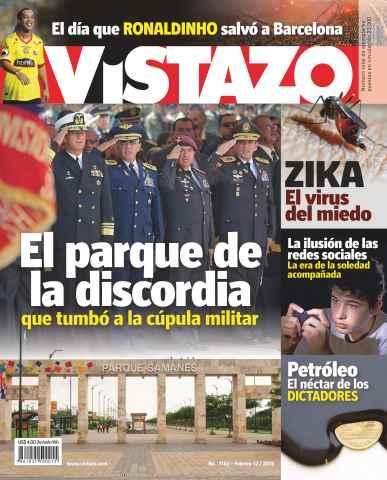 Revista Vistazo issue Vistazo 1163