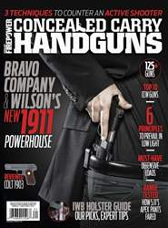 Conceal and Carry issue Spring 2016