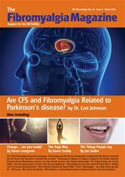 Fibromyalgia Magazine - March 2016 issue Fibromyalgia Magazine - March 2016
