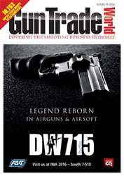 Gun Trade World issue March 2016