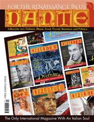 Dante 32 page FREE Sample Issue issue Dante 32 page FREE Sample Issue