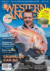 Western Angler issue Apr/May 16