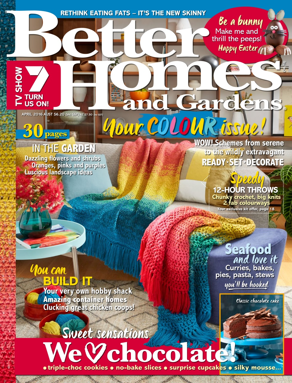 Better homes and gardens australia april 2016 Bhg australia
