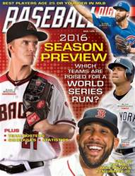 Baseball Digest issue March/April 2016