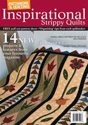 P&Q Strippy Quilts issue Patchwork & Quilting Special