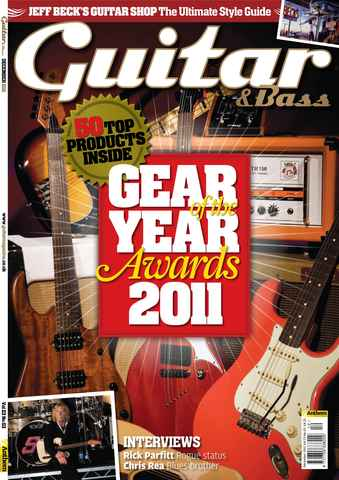 Guitar & Bass Magazine issue Dec 2011 Gear of the Year Awards
