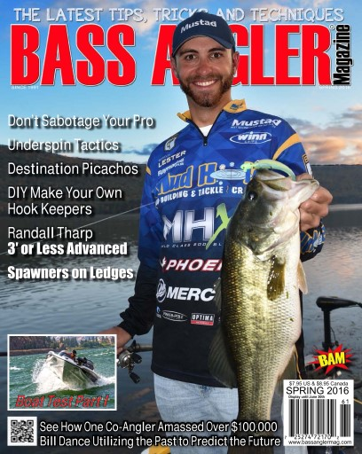Bass angler magazine spring 2016 for Bass fishing magazine
