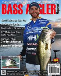 BASS ANGLER MAGAZINE issue Spring 2016