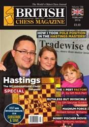 British Chess Magazine issue February 2016
