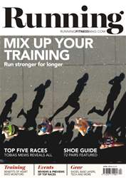 Running issue No. 188 Mix Up Your Training