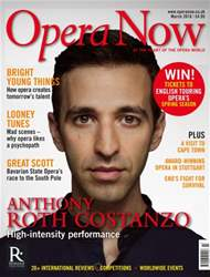 Opera Now issue March 2016