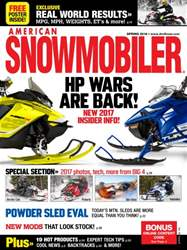 American Snowmobiler issue March 2016