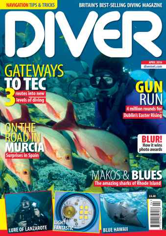 DIVER issue APRIL 2016