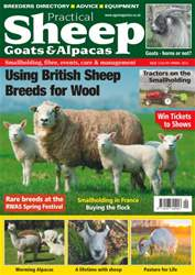 Sheep, Goats  & Alpaca issue No. 12 Using British Sheep Breeds For Wool