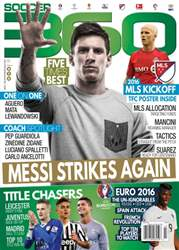 Soccer 360 issue March/April 2016
