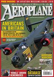 Aeroplane issue April 2016