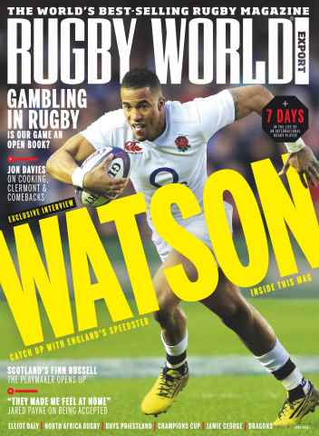 Rugby World issue April 2016