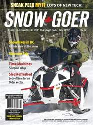 Snow Goer Canada issue March 2016