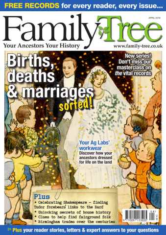 Family Tree issue Family Tree April 2016