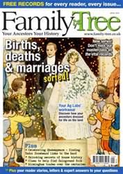 Family Tree issue Family Tree April 2016