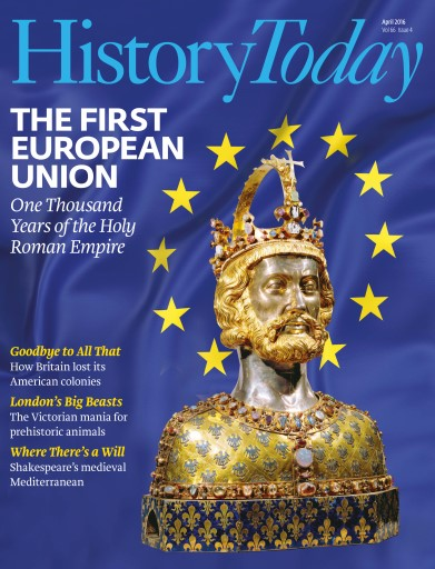 History Today issue April 2016