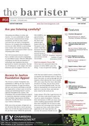 The Barrister Magazine issue 68