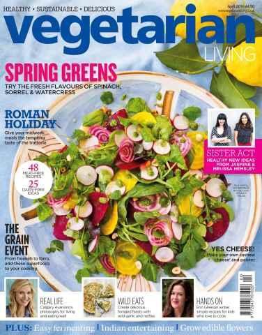 Vegetarian Living issue Apr-16