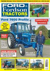 Ford & Fordson issue No. 72 Ford 7600 Profile