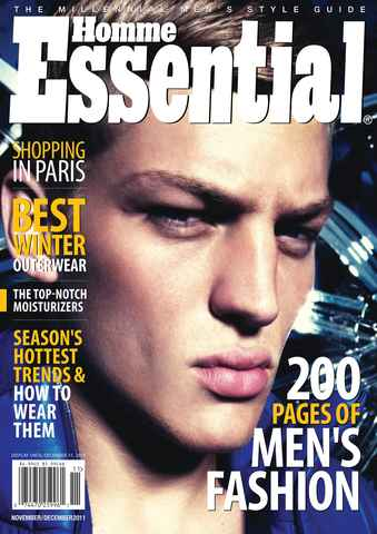 Essential Homme issue November-December 2011