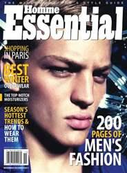 Essential Homme issue November-December 2011
