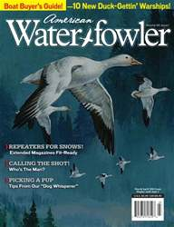 American Waterfowler issue Volume VII, Issue I