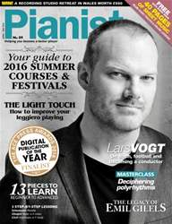Pianist 89 April-May 2016 issue Pianist 89 April-May 2016