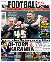 The Football League Paper issue 13th March 2016