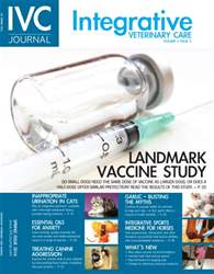 Integrative Veterinary Care issue Spring 2016